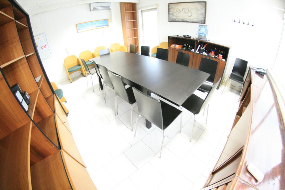 Sala meeting Napoli panoramica